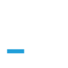 WGS Hub White with Blue-1